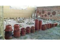 Clay chimney pots from £10 FREE LOCAL DELIVERY