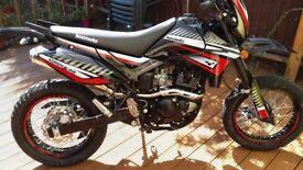 LEXMOTO Adrenaline 125cc motorcyle