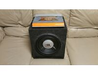 CAR ACTIVE SUBWOOFER JBL 1200 WATT 12 INCH WITH AMPLIFIER PORTED ENCLOSURE BASS BOX AMP SUB WOOFER