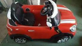 Electronic Mini Cooper toy car