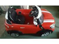 Electronic Mini Cooper toy car