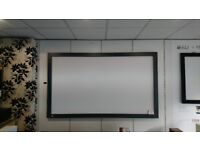 7FT FIXED PROJECTOR SCREEN RRP £649