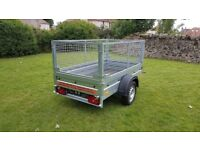 NEW trailer with mesh 6 x 4 x 3,12 BEST PRICE £720 inc vat
