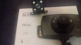 Brand new front and rear dash cam