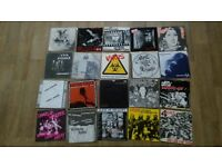 "150 x 7"" punk collection twisted nerve / discharge / exploited / vice squad"