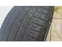i have for sale 1 tyre Good Year 225/45/17 . good condition