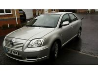 Toyota avensis t2 1.8 petrol m.o.t 12th October
