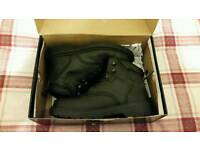 Brand New Black Rock Steel Toe Cap Boots 8