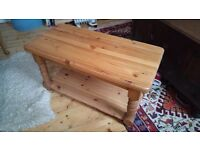 Solid pine coffee table - possible shabby chic project