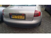 audi a6 for spares or repair.