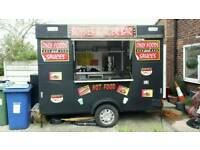 Burger Van Catering Trailer