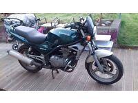 Motor bike for caravan
