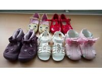 Baby girls shoes including monsoon and Spanish style