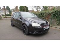 """2005 Volkswagen Golf 1.6 FSI with GTI front bumper and 18"""" black alloys! Very nice 1.6 FSI !!"""