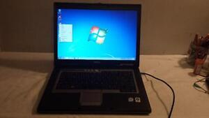 Used Dell Latitude D830 Core 2 Duo  2.4Ghz Laptop with DVD and Wireless for Sale
