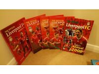 Liverpool annuals 2009 to 2012