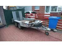 Ifor willams plant trailer