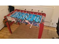 foosball table, super cheap.