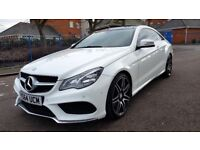 2015 AUTOMATIC MERCEDES E-CLASS E220 BLUETEC COUPE 2.1 DIESEL GLASS ROOF
