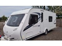 Sterling Eccles Ruby (2009) 4 Berth Fixed Bed Used Touring Caravan. A Great Family Van