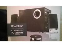 Sandstrom 2.1 Bluetooth Speakers for PC/Laptop £15
