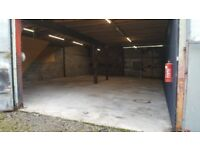 30 ft x 50ft Shed / Unit to rent for storage in Llandysul