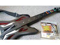 Guitar hero - Guitar and Warriors of Rock Bundle - PS3
