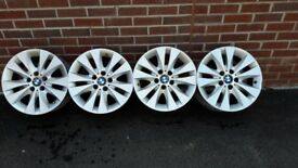 BMW 4 wheels for 5 series E60 model. Style 116 17 inch. Good condition