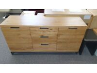 Brooklyn Solid Oak Sideboard Can Deliver