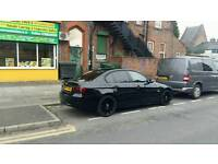 Bmw 318 diesel 57 plate black Msport wheels f.s.h
