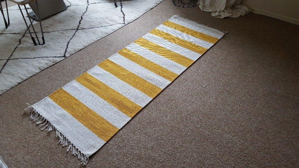 Yellow Striped Runner Rug. Carterton ...