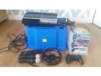 PS3 with Games & Extras