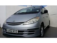 2002│TOYOTA │Previa CDX vvti AUTO │LEATHER SEATS │ UK VERSION │1 year MOT │ 7 Seater