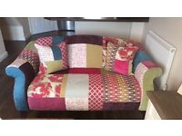 DFS 3 seater & 2 seater Shout Sofa