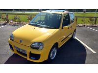 2002 Fiat Seicento Sporting 1.1 Yellow 12months MOT Pioneer B/tooth Handsfree