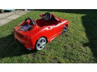 Kids ride on ferrari car 6v