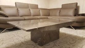 All Marble Grey Coffee Table