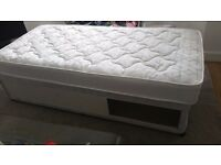 Single Bed + Hardly used pocket Sprung Mattress