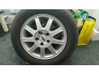 Ford alloys + tyres
