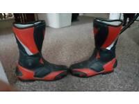 Dainese kids motorbike boots
