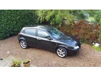 Alfa Romeo 147 2.0 Twin Spark Lusso 5 Door. Manual, One Previous Owner, Low Mileage, Excellent