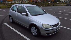 Vauxhall Corsa 1.2 SXi 16 valve. 2004 Sivler 3 door.