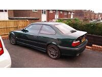 Needs to go this weekend BMW 318 is COUPE E36 1999 Msport in and out