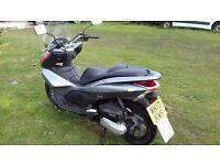 Honda PCX 125 in Silver
