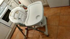 Mamas and Papas High chair - removable and washable cover
