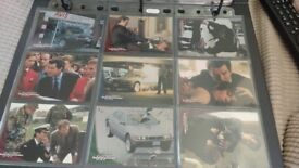 James Bond Trading Collecting Cards