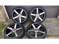 ALLOY WHEELS AND TYRES SUIT BMW