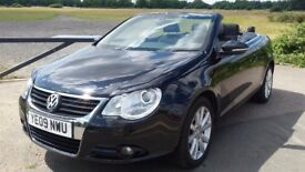 Volkswagen EOS 1.4 TSI SE Cabriolet 2dr 2009 72k Mileage Convertible Full Service History