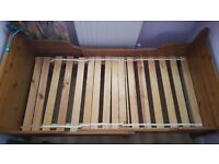 Single extendable bed - suitable for adults and kids