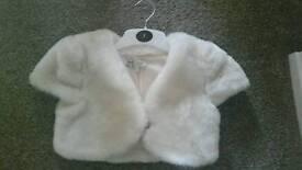 Fur Jacket aged 6-7 years